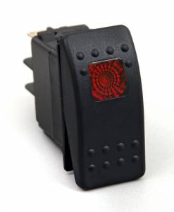 Interior Accessories - Electrical Switch Panels - Daystar - Daystar KU80014 Rocker Switch Red Light 20 AMP Single Pole