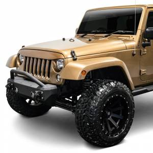 Jeep Bumpers - Iron Cross