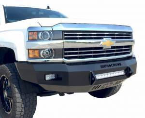 Truck Bumpers - Iron Cross - Heavy Duty Low Profile