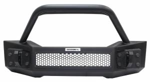 Go Rhino - Go Rhino 331101T Rockline Front Bumper with Stubby Bar Jeep Wrangler JL 2018-2019 - Image 3