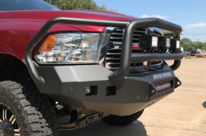 Truck Bumpers - Road Armor Stealth - Dodge RAM 1500 2013-2018