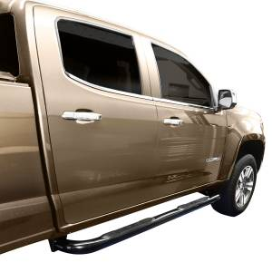 Westin - Westin 23-4005 E-Series 3 Nerf Step Bars Chevrolet/GMC Chevy Colorado and GMC Canyon Extended Cab 2015-2020 - Image 2