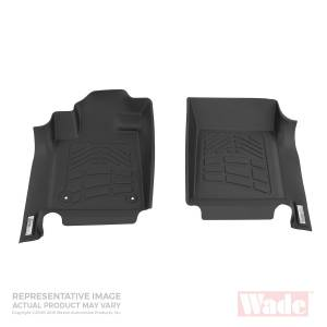 Westin - Westin 72-110037 Sure Fit Floor Liners Front Ford F-250/350/450/550 2011-2012 (No foot rest cut out)