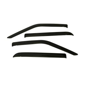 Westin - Westin 72-37444 Tape On Wind Deflector 4pc Ford F-150 SuperCrew 2015-2020 and F-250/350 SuperCrew SuperDuty 2017-2019 - Image 1