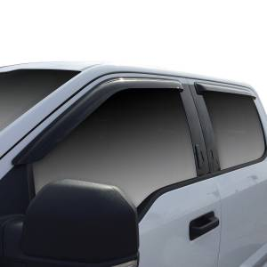Westin - Westin 72-37444 Tape On Wind Deflector 4pc Ford F-150 SuperCrew 2015-2020 and F-250/350 SuperCrew SuperDuty 2017-2019 - Image 2