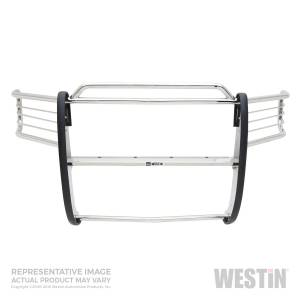 Westin - Westin 45-1170 Sportsman Grille Guard Chevrolet Silverado 'Classic' 1500LD 2003-2007 and Avalanche w/ out Cladding 2003-2006 - Image 1