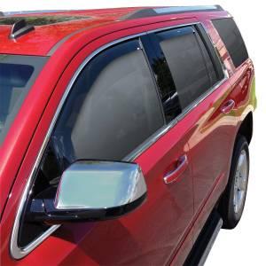 Westin - Westin 72-39419 In Channel Wind Deflector 4pc Chevrolet/GMC/Cadillac Tahoe/Yukon/Yukon Denali/Escalade 2015-2020 - Image 2