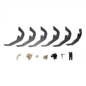 """Westin - Westin 21-63715 PRO TRAXX 6 Oval Nerf Step Bars Chevrolet/GMC Silverado Sierra 1500 Double Cab 2014-2018 and Silverado LD/Sierra Limited 1500 Double Cab 2019 and 2500/3500 Double Cab 2015-2019 (Excl. 2011+ Diesel model)(Excl. """"Classic"""") - Image 3"""