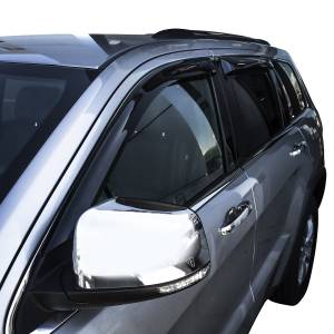 Westin - Westin 72-51490 Tape On Wind Deflector 4pc Jeep Gr and Cherokee 2011-2020 - Image 2