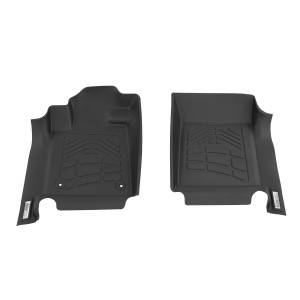 Westin - Westin 72-110054 Sure Fit Floor Liners Front Toyota Sequoia 2012-2019 and Tundra Regular/Double/CrewMax 2012-2019 (Double hook)