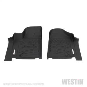 Westin - Westin 72-110090 Sure Fit Floor Liners Front Dodge/Chrysler/Volkswagen Gr and Caravan 2012-2019 and Town & Country 2012-2016 and Routan 2011-2014