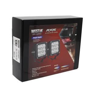 Westin - Westin 09-12219A-PR Axis LED Auxiliary Light - Image 2