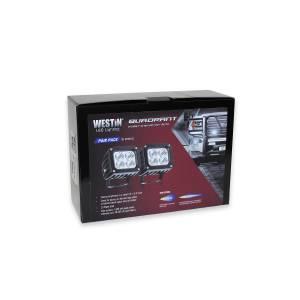Westin - Westin 09-12252B-PR Quadrant LED Auxiliary Light - Image 2