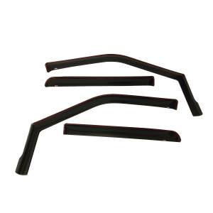 Westin - Westin 72-37407 In Channel Wind Deflector 4pc Ford F-150 SuperCrew 2015-2020 and F-250/350 SuperDuty Crew Cab 2017-2019 - Image 1