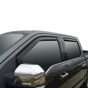 Westin - Westin 72-37407 In Channel Wind Deflector 4pc Ford F-150 SuperCrew 2015-2020 and F-250/350 SuperDuty Crew Cab 2017-2019 - Image 2