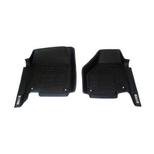 Westin - Westin 72-110042 Sure Fit Floor Liners Front Ram Dodge RAM 1500 Reg/Quad Cab 2012-2018 and 1500 Classic Reg/Quad Cab 2019 (two rentention hooks) and 2500/3500 Reg/Quad Cab 2012-2019 (Old body style)