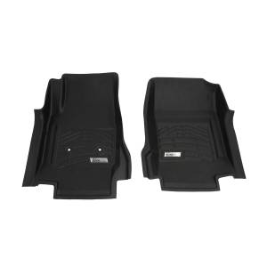 Westin - Westin 72-110074 Sure Fit Floor Liners Front Chevrolet/GMC Chevy Colorado and GMC Canyon Ext/Crew Cab 2015-2020