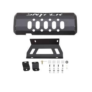 Suspension Parts - Skid Plates - Westin - Westin 42-21045 Muffler Skid Plate Jeep Wrangler JK 2007-2018