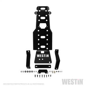 Westin - Westin 42-21125 Transmission Pan Skid Plate Jeep Wrangler Unlimited 4dr 2007-2011 and Wrangler 2dr 2007-2011 - Image 5