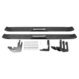 Westin - Westin 21-51955 PRO TRAXX 5 Oval Nerf Step Bars Chevrolet/GMC Chevy Silverado and GMC Sierra 1500 Crew Cab 2007-2013 and 25/3500HD 2007-2010 Incl Diesel and 25/3500HD 2011-2014 Excl Diesel - Image 4