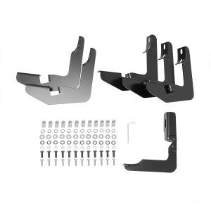 Westin - Westin 21-51955 PRO TRAXX 5 Oval Nerf Step Bars Chevrolet/GMC Chevy Silverado and GMC Sierra 1500 Crew Cab 2007-2013 and 25/3500HD 2007-2010 Incl Diesel and 25/3500HD 2011-2014 Excl Diesel - Image 5
