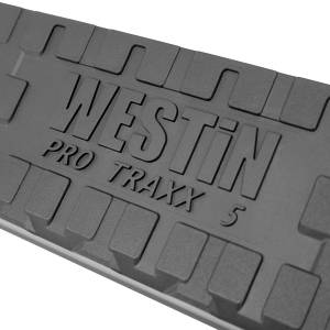 Westin - Westin 21-53705 PRO TRAXX 5 Oval Nerf Step Bars Chevrolet/GMC Chevy Silverado and GMC Sierra 1500 Regular Cab 2014-2018 and 2500/3500 Regular Cab 2015-2019 - Image 4