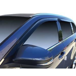 Westin - Westin 72-88452 Tape On Wind Deflector 4pc Toyota Highlander 2014-2019 - Image 2