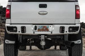 Superduty Bumpers - Ford Superduty 2017-2019 - Flog Industries - Flog Industries FISD-F2535-1718R-S Rear Bumper with Sensor Holes Ford F250/F350 2017-2019