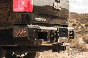 Flog Industries - Chevy Silverado 2500HD/3500 2011-2014 - Flog Industries - Flog Industries FISD-C2535-1114R-S Rear Bumper with Sensor Holes Chevrolet Silverado 2500HD/3500 2011-2014