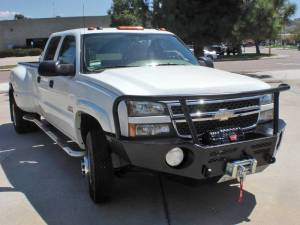 Truck Bumpers - Aluminess - Chevy Silverado 1500 2007-2013
