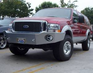 Truck Bumpers - Aluminess - Ford F250/F350 1999-2004