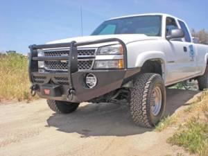 Truck Bumpers - Aluminess - GMC Sierra 2500HD/3500 2003-2006