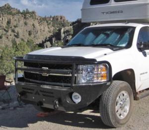 Truck Bumpers - Aluminess - GMC Sierra 2500HD/3500 2007-2013