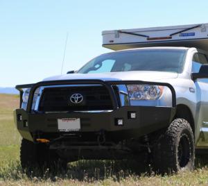 Truck Bumpers - Aluminess - Toyota Tundra