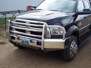 Truck Bumpers - Truck Defender - Truck Defender Aluminum Front Bumper Dodge Ram 5500 2010-2019