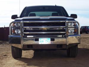 Truck Defender - Truck Defender Aluminum Front Bumper Chevy Surburban 1500 2007-2014 - Image 2