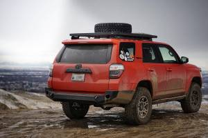 Expedition One - Expedition One 4RRB100_BARE Bare Steel Rear Bumper Toyota 4Runner 2010-2019 - Image 2