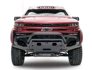 Truck Bumpers - Fab Fours Matrix - Chevy