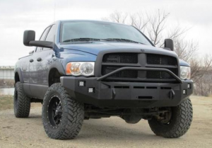 Truck Bumpers - Fusion Bumpers - Fusion 09171500RMFB Front Bumper Dodge RAM 1500 2009-2018
