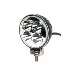 "Bumper Fog Lights - Quake - Quake QQU134 3.5"" Work Light 12 Watt Flood Quantum Series LED"