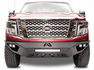 Truck Bumpers - Fab Fours Vengeance - Nissan