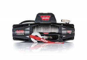 B Exterior Accessories - Warn - Warn 103253 EVO 10-S 10,000lb Winch with Synthetic Rope