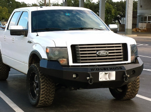 Shop Bumpers By Vehicle - Ford F150 Eco-Boost - Iron Cross - Iron Cross 20-415-09 Winch Front Bumper Ford F150 2009-2014 Gloss