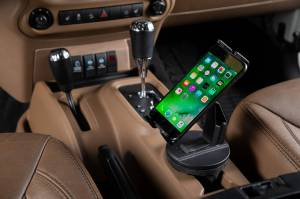 Daystar - Daystar KU81001BK Cup Holder Phone Mount - Image 1