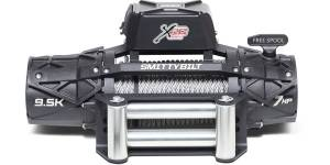 B Exterior Accessories - Winches - Smittybilt - Smittybilt 98695 XRC Gen3 9.5K Comp Series Winch with Synthetic Cable