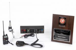 Interior Accessories - Radios - Daystar - Daystar KJ71061BK GMRS 2 Way Radio Complete Kit with Handheld Radio Jeep Wrangler JK 2007-2018