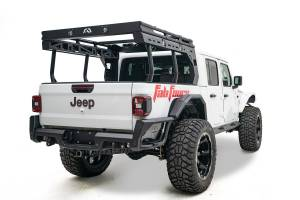 B Exterior Accessories - Fab Fours - Fab Fours JTOR-02-1 Overland Rack Extension Jeep Gladiator JT 2020