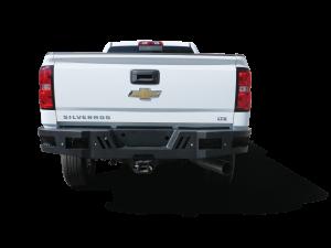 Truck Bumpers - Scorpion - Scorpion Extreme Armor - Scorpion 6102201BK HD Rear bumper for Chevy Silverado 2500/3500 2011-2019