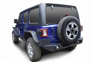 Jeep Bumpers - Scorpion Extreme Armor - Scorpion Extreme Armor - Scorpion 6105502BK Rear Bumper with LED Lights Jeep Wrangler JL 2018-2020
