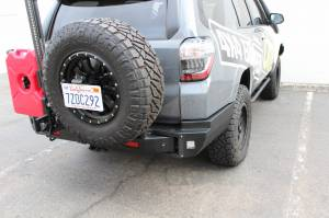 TJM - TJM 081ST37A86ZKIT Rear Bumper with Tire Carrier Toyota 4Runner 2010-2019 - Image 2